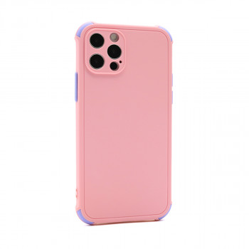 Futrola CRASHPROOF COLORFUL za Iphone 12 Pro Max (6.7) roze