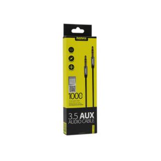 Audio kabl REMAX RM-L100 Aux 3.5mm crni 1m