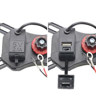 Drzac za mobilni telefon ZM-004 za motor sa punjacem crni