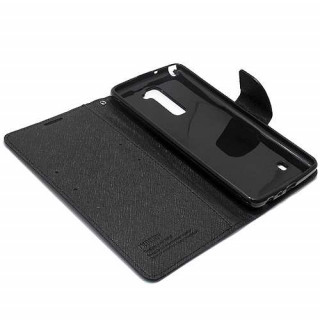 Futrola BI FOLD MERCURY za LG Stylus 2 Plus crna