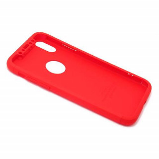 Futrola PVC 360 PROTECT za Iphone X/XS crvena