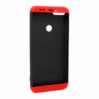 Futrola PVC 360 PROTECT za Huawei Y7 Prime 2018/Honor 7C crno-crvena