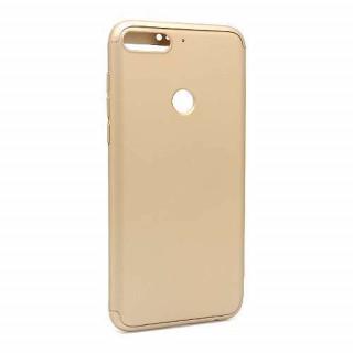 Futrola PVC 360 PROTECT za Huawei Y7 Prime 2018/Honor 7C zlatna