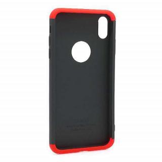Futrola PVC 360 PROTECT za Iphone XS Max crno-crvena
