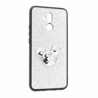 Futrola Colorful Mouse za Huawei Mate 20 Lite srebrna