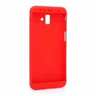 Futrola PVC 360 PROTECT za Samsung J610F Galaxy J6 Plus crvena