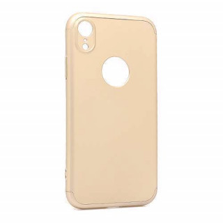 Futrola PVC 360 PROTECT za Iphone XR zlatna
