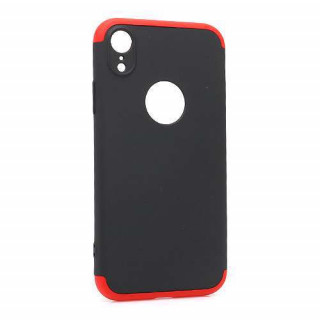 Futrola PVC 360 PROTECT za Iphone XR crno-crvena