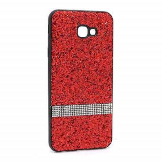 Futrola Glittering Stripe za Samsung J415F Galaxy J4 Plus crvena