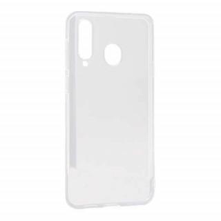 Futrola ULTRA TANKI PROTECT silikon za Samsung Galaxy A8s providna (bela)