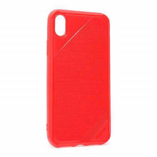 Futrola silikon ROUGH za Iphone XR crvena