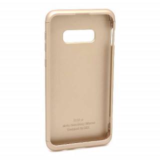 Futrola PVC 360 PROTECT za Samsung G970F Galaxy S10e zlatna