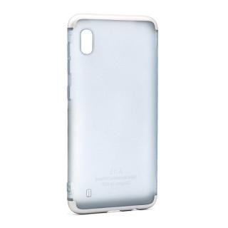 Futrola PVC 360 PROTECT NEW za Samsung A105F Galaxy A10 srebrna