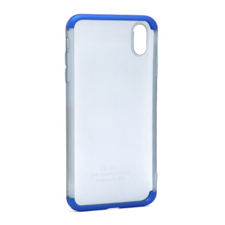 Futrola PVC 360 PROTECT NEW za Iphone XS Max plava