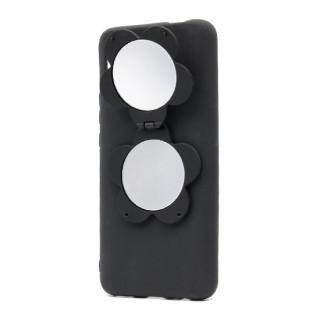 Futrola Flower Mirror za Huawei P Smart Z/Y9 Prime 2019 crna