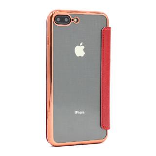 Futrola BI FOLD SHINING za Iphone 7 Plus/8 Plus crvena