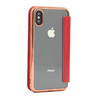 Futrola BI FOLD SHINING za Iphone X/XS crvena