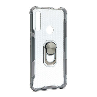 Futrola DEFENDER RING CLEAR za Huawei P Smart Z/Y9 Prime 2019 siva