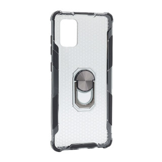 Futrola DEFENDER RING CLEAR za Samsung A715F Galaxy A71 crna