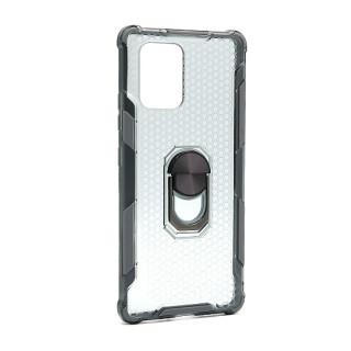 Futrola DEFENDER RING CLEAR za Samsung G770F/A915F Galaxy S10 Lite/A91 siva