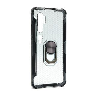 Futrola DEFENDER RING CLEAR za Xiaomi Mi Note 10/CC9 Pro crna