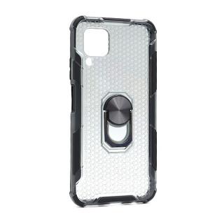 Futrola DEFENDER RING CLEAR za Huawei P40 Lite/Nova 7i/Nova 6SE crna