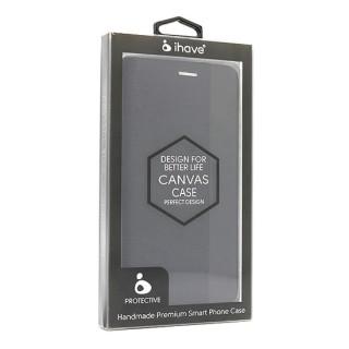 Futrola BI FOLD Ihave Canvas za Huawei Y5p/Honor 9S crna