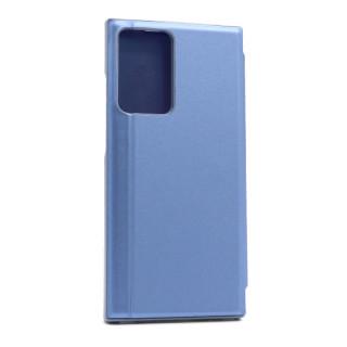 Futrola BI FOLD CLEAR VIEW za Samsung Galaxy Note 20 Ultra teget