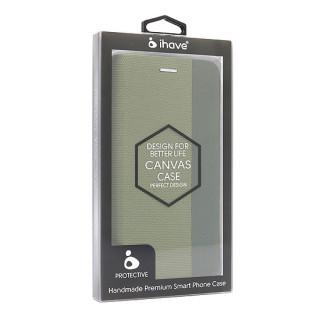 Futrola BI FOLD Ihave Canvas za Huawei P40 Lite E zelena