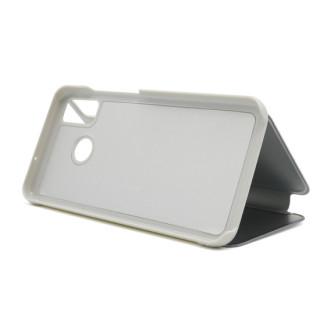 Futrola BI FOLD CLEAR VIEW za Huawei Honor 9X Lite srebrna