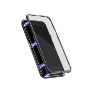 Futrola Full Cover magnetic frame za Samsung G980F Galaxy S20 crna model 1