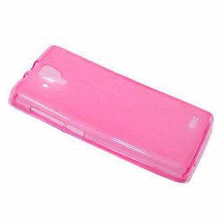 Futrola silikon DURABLE za Lenovo A536 pink