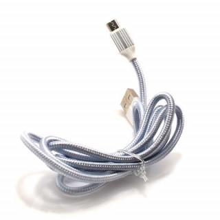 Kucni punjac LDNIO A2502Q 2xUSB 5V/2.4A FAST QC 3.0 microUSB beli