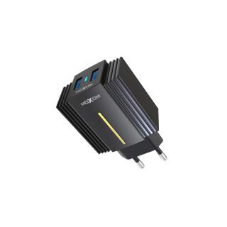 Kucni punjac Moxom MX-HC12QC 3.0 Fast lightningn crni