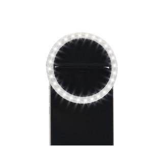 Selfie ring light portable crni