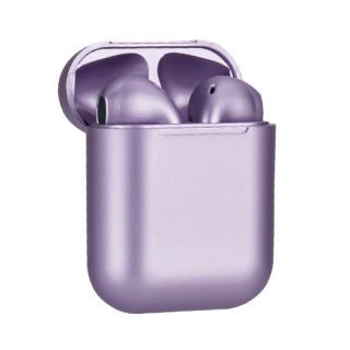 Slusalice Bluetooth Airpods InPods 12 metalic ljubicasta
