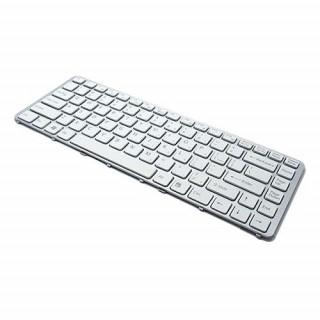 Tastatura za laptop za Sony VGN-NW bela