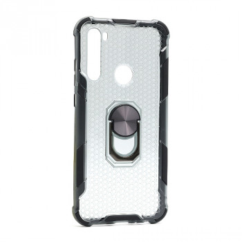 Futrola DEFENDER RING CLEAR za Xiaomi Redmi Note 8T crna