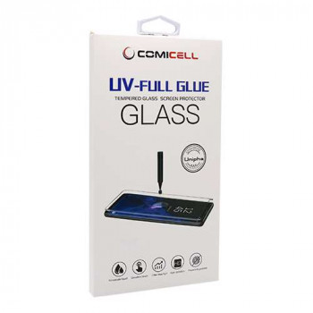 Folija za zastitu ekrana GLASS 3D MINI UV-FULL GLUE za Samsung G925 Galaxy S6 Ed