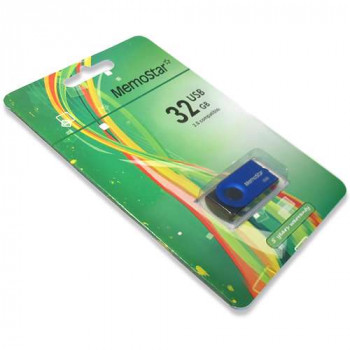 USB Flash memorija MemoStar 32GB ROTA plava