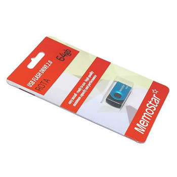 USB Flash memorija MemoStar 64GB ROTA plava
