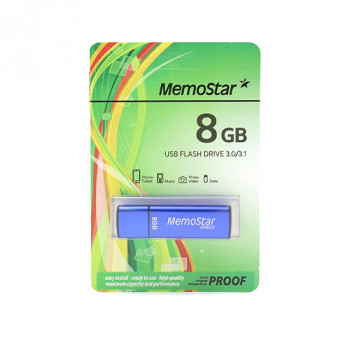 USB Flash memorija MemoStar 8GB CUBOID 3.0 plava