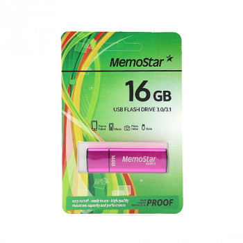 USB Flash memorija MemoStar 16GB CUBOID 3.0 pink