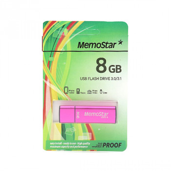 USB Flash memorija MemoStar 8GB CUBOID 3.0 pink