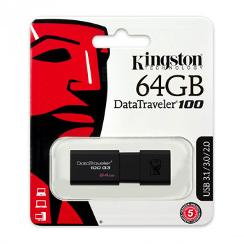 USB Flash memorija Kingston 64GB 3.0 DT100G3