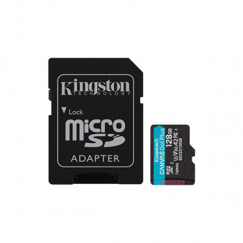Mem.kartica bez ad. Canvas Go! Plus MicroSD 128GB Kingston