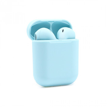 Slusalice Bluetooth Airpods InPods 12 macarons plave