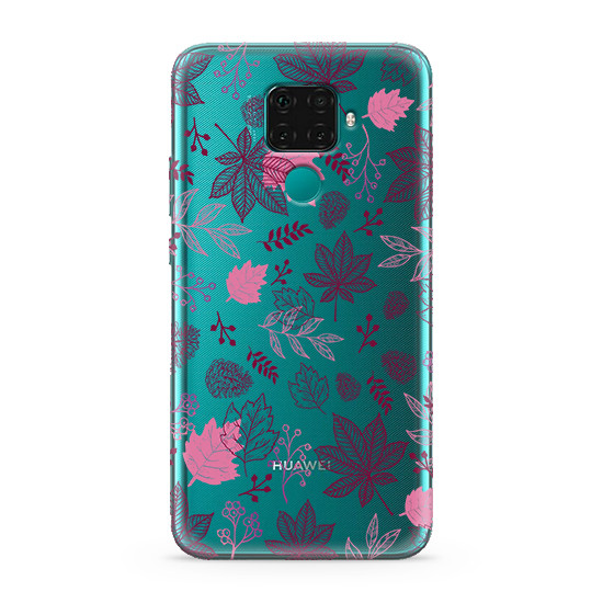 Futrola ULTRA TANKI PRINT CLEAR za Huawei Mate 30 Lite AT0003