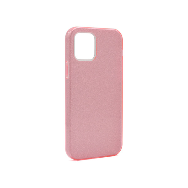 Futrola silikon GLITTER SHOW YOURSELF za Iphone 12 Pro Max (6.7) roze