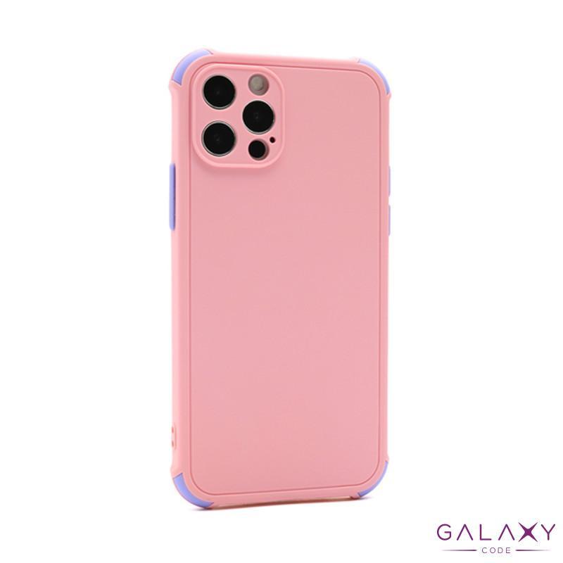 Futrola CRASHPROOF COLORFUL za Iphone 12 Pro Max (6.7) roze